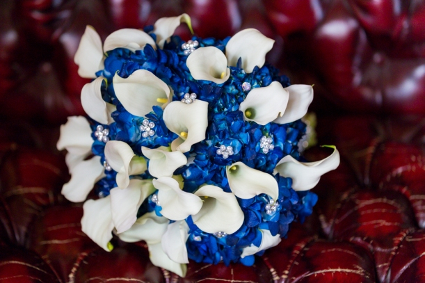 Bridal Bouquet at St, Ceilia Church in San Francisco, CA