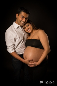 Pregnancy Portrait Session at Trifon Anguelov Photography Studio in Mountain View, CA