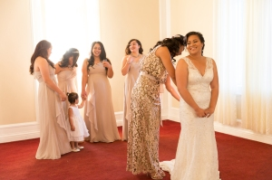 Bridal Preparation at Corinthian Event Center in San Jose, CA