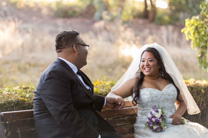 Bride & Groom Portrait in Mountain View, CA