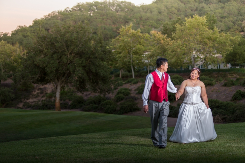 Summer Wedding at Eagle Ridge Golf Course in Gilroy, CA