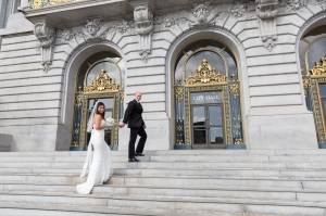 Elegant Wedding at San Francisco City Hall, San Francisco, CA