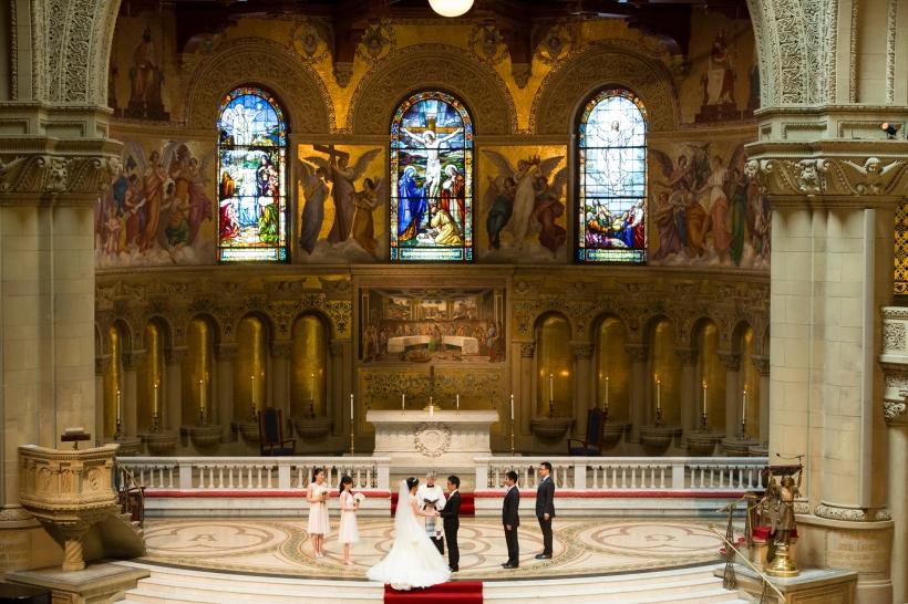 Christian Wedding at Memorial Church in Stanford, CA